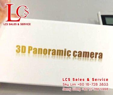 Batu Pahat CCTV 3D Panoramic Camera Alarm System Wiring Works Office Equipment Johor Malaysia 峇株巴辖闭路电视保安系统 360度全景智能监控 A04-B01