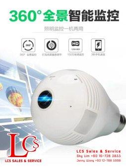 Batu Pahat CCTV 3D Panoramic Camera Alarm System Wiring Works Office Equipment Johor Malaysia 峇株巴辖闭路电视保安系统 360度全景智能监控 A04-B02