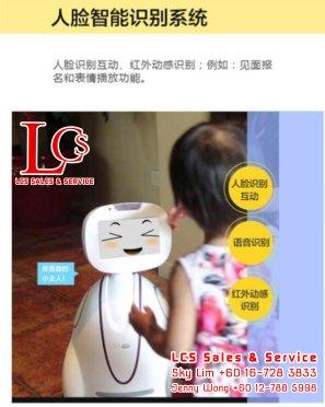 Batu Pahat Family Robot Friends Alarm System Johor Malaysia 峇株巴辖小喧一号机器人 智能家庭专属玩伴 视频监控 语音对话 柔佛 马来西亚 A05-05