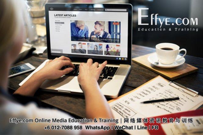 Effye Media Asia Malaysia Johor Batu Pahat Pendidikan dan Latihan Media Dalam Talian untuk Kakitangan Pemilik Syarikat Boss Usahawan Peribadi Guru Pelajar Kanak-Kanak A03