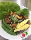 Malaysia Johor Batu Pahat Vegetarian Food Restaurant and Cafe Delicious Food and Beverages 马来西亚 柔佛 峇株巴辖 素食餐厅 和 咖啡厅 美食 我肚子饿了 A09