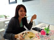 Malaysia Johor Batu Pahat Vegetarian Food Restaurant and Cafe Delicious Food and Beverages 马来西亚 柔佛 峇株巴辖 素食餐厅 和 咖啡厅 美食 我肚子饿了 B03