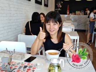 Malaysia Johor Batu Pahat Vegetarian Food Restaurant and Cafe Delicious Food and Beverages 马来西亚 柔佛 峇株巴辖 素食餐厅 和 咖啡厅 美食 我肚子饿了 B11