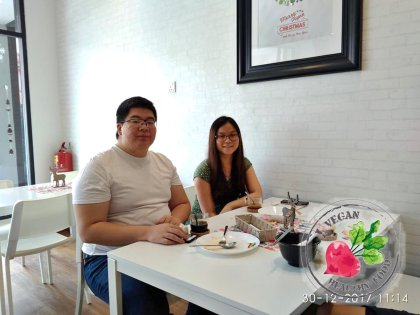 Malaysia Johor Batu Pahat Vegetarian Food Restaurant and Cafe Delicious Food and Beverages 马来西亚 柔佛 峇株巴辖 素食餐厅 和 咖啡厅 美食 我肚子饿了 B16