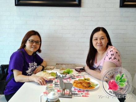 Malaysia Johor Batu Pahat Vegetarian Food Restaurant and Cafe Delicious Food and Beverages 马来西亚 柔佛 峇株巴辖 素食餐厅 和 咖啡厅 美食 我肚子饿了 B18