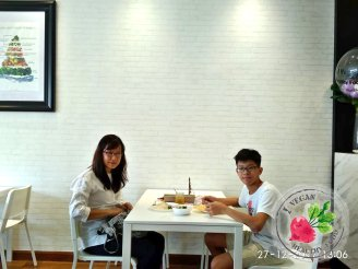 Malaysia Johor Batu Pahat Vegetarian Food Restaurant and Cafe Delicious Food and Beverages 马来西亚 柔佛 峇株巴辖 素食餐厅 和 咖啡厅 美食 我肚子饿了 B34