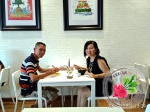 Malaysia Johor Batu Pahat Vegetarian Food Restaurant and Cafe Delicious Food and Beverages 马来西亚 柔佛 峇株巴辖 素食餐厅 和 咖啡厅 美食 我肚子饿了 B41