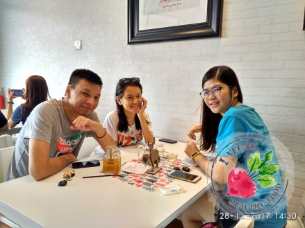 Malaysia Johor Batu Pahat Vegetarian Food Restaurant and Cafe Delicious Food and Beverages 马来西亚 柔佛 峇株巴辖 素食餐厅 和 咖啡厅 美食 我肚子饿了 B43