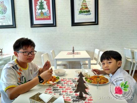 Malaysia Johor Batu Pahat Vegetarian Food Restaurant and Cafe Delicious Food and Beverages 马来西亚 柔佛 峇株巴辖 素食餐厅 和 咖啡厅 美食 我肚子饿了 B47