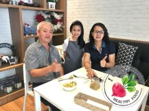 Malaysia Johor Batu Pahat Vegetarian Food Restaurant and Cafe Delicious Food and Beverages 马来西亚 柔佛 峇株巴辖 素食餐厅 和 咖啡厅 美食 我肚子饿了 B52