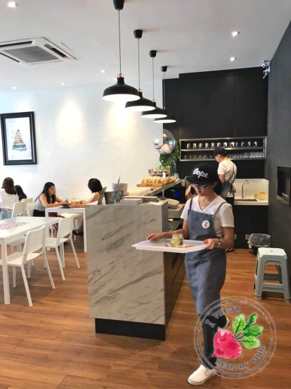 Malaysia Johor Batu Pahat Vegetarian Food Restaurant and Cafe Delicious Food and Beverages 马来西亚 柔佛 峇株巴辖 素食餐厅 和 咖啡厅 美食 我肚子饿了 C11