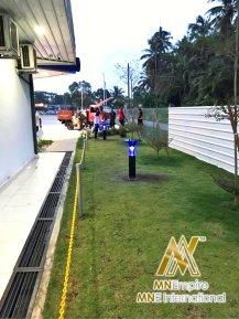 pembunuh nyamuk berkuasa solar untuk luar dan dalam rumah pemasangan percuma alat bunuh nyamuk elektrik 07