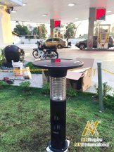 pembunuh nyamuk berkuasa solar untuk luar dan dalam rumah pemasangan percuma alat bunuh nyamuk elektrik 10