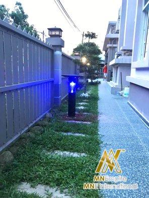 pembunuh nyamuk berkuasa solar untuk luar dan dalam rumah pemasangan percuma alat bunuh nyamuk elektrik 26