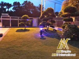 pembunuh nyamuk berkuasa solar untuk luar dan dalam rumah pemasangan percuma alat bunuh nyamuk elektrik 27