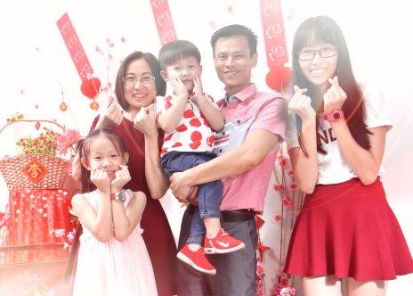 2018年 司提反团契 家庭 全家福 Stephen Ministries Family Group Photo 2018 B03