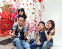 2018年 司提反团契 家庭 全家福 Stephen Ministries Family Group Photo 2018 K C Gan Kim Chai and Grace Teo Cai Xia G02