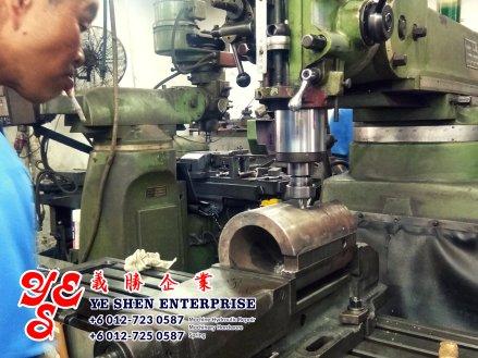 Batu Pahat Machinery Repair Hydralic System Design Machine Hardware Ye Shen Enterprise Johor Malaysia 峇株巴辖 义胜企业 義勝企業 机械维修 机械五金 车床 A01-09