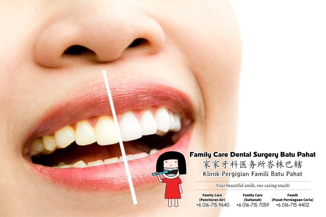 Family Care Dental Surgery Batu Pahat Johor Malaysia Batu Pahat Dentist Oral Health Children Dentistry Dental Clinic Dental Implant Dentures Wisdom Tooth Surgery Extractions A01-03
