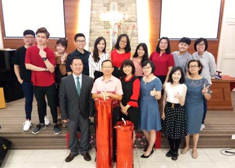 Raymond Ong Effye Ang Chinese New Year 2018 Gereja Joy Soga Batu Pahat Johor Malaysia 农历新春2018 苏雅喜乐教堂 B002