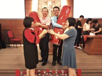 Raymond Ong Effye Ang Chinese New Year 2018 Gereja Joy Soga Batu Pahat Johor Malaysia 农历新春2018 苏雅喜乐教堂 B011