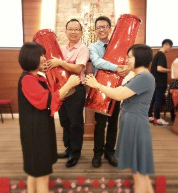 Raymond Ong Effye Ang Chinese New Year 2018 Gereja Joy Soga Batu Pahat Johor Malaysia 农历新春2018 苏雅喜乐教堂 B012