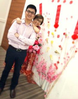 Raymond Ong Effye Ang Chinese New Year 2018 Gereja Joy Soga Batu Pahat Johor Malaysia 农历新春2018 苏雅喜乐教堂 B014