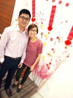 Raymond Ong Effye Ang Chinese New Year 2018 Gereja Joy Soga Batu Pahat Johor Malaysia 农历新春2018 苏雅喜乐教堂 B015