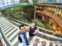 Raymond Ong Effye Ang work together Fighting for Future Crazy Life 陪我发疯 陪我癫 Garden of One Utama Shopping Centre Center Kuala Lumpur A19