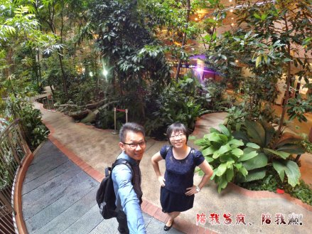 Raymond Ong Effye Ang work together Fighting for Future Crazy Life 陪我发疯 陪我癫 Garden of One Utama Shopping Centre Center Kuala Lumpur A21