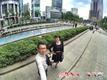 Raymond Ong Effye Ang work together Fighting for Future Crazy Life 陪我发疯 陪我癫 KLCC Malaysia A01