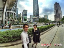 Raymond Ong Effye Ang work together Fighting for Future Crazy Life 陪我发疯 陪我癫 KLCC Malaysia A02