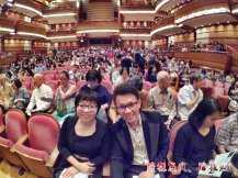 Raymond Ong Effye Ang work together Fighting for Future Crazy Life 陪我发疯 陪我癫 KLCC Malaysia Malaysian Philharmonic Orchestra MPO MPYO A07