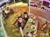 Raymond Ong Effye Ang work together Fighting for Future Crazy Life 陪我发疯 陪我癫 Valentines Day at Roundabout Cafe N Bistro Batu Pahat Johor A14