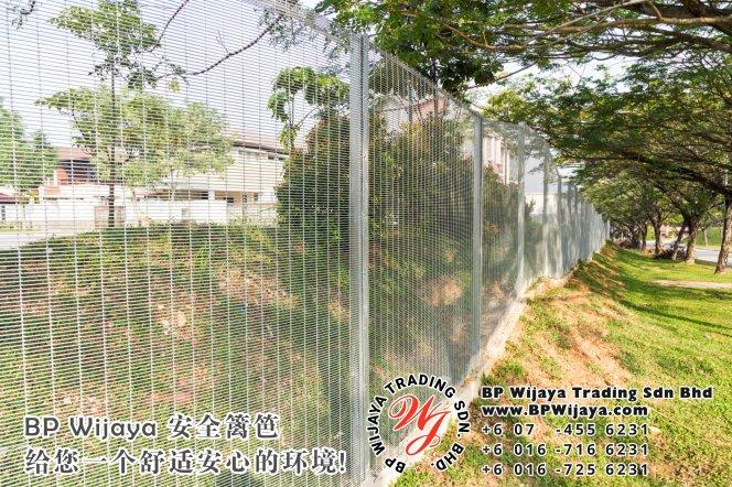 BP Wijaya Trading Sdn Bhd 马来西亚 雪兰莪 吉隆坡 安全 篱笆 制造商 提供 篱笆 建筑材料 给 发展商 花园 公寓 住家 工厂 果园 社会 安全藩篱 建设 A01-02