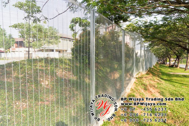 BP Wijaya Trading Sdn Bhd Malaysia Selangor Kuala Lumpur manufacturer of safety fences building materials for housing construction site Security fencing factory security home security A01-02
