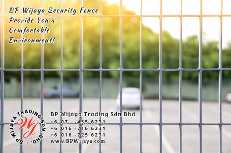 BP Wijaya Trading Sdn Bhd Malaysia Selangor Kuala Lumpur manufacturer of safety fences building materials for housing construction site Security fencing factory security home security A02-08