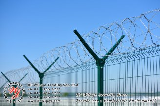 BP Wijaya Trading Sdn Bhd Malaysia Selangor Kuala Lumpur manufacturer of safety fences building materials for housing construction site Security fencing factory security home security A02-10