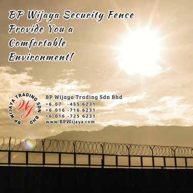 BP Wijaya Trading Sdn Bhd Malaysia Selangor Kuala Lumpur manufacturer of safety fences building materials for housing construction site Security fencing factory security home security A02-13
