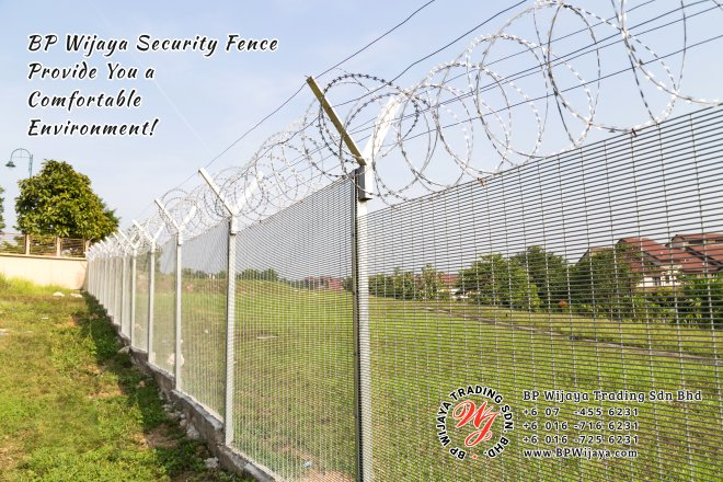 BP Wijaya Trading Sdn Bhd Malaysia Selangor Kuala Lumpur manufacturer of safety fences building materials for housing construction site Security fencing factory security home security A03-11