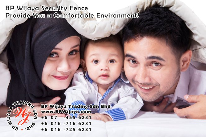 BP Wijaya Trading Sdn Bhd Malaysia Selangor Kuala Lumpur manufacturer of safety fences building materials for housing construction site Security fencing factory security home security A01-10