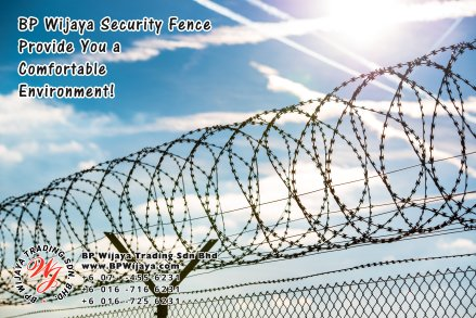 BP Wijaya Trading Sdn Bhd Malaysia Selangor Kuala Lumpur Manufacturer of Safety Fences Building Materials for Housing Construction Site Security Fencing Factory Security Home Security C01-04