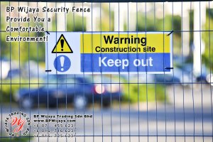 BP Wijaya Trading Sdn Bhd Malaysia Selangor Kuala Lumpur Manufacturer of Safety Fences Building Materials for Housing Construction Site Security Fencing Factory Security Home Security C01-13