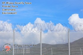 BP Wijaya Trading Sdn Bhd Malaysia Selangor Kuala Lumpur Manufacturer of Safety Fences Building Materials for Housing Construction Site Security Fencing Factory Security Home Security C01-15