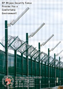 BP Wijaya Trading Sdn Bhd Malaysia Selangor Kuala Lumpur Manufacturer of Safety Fences Building Materials for Housing Construction Site Security Fencing Factory Security Home Security C01-33