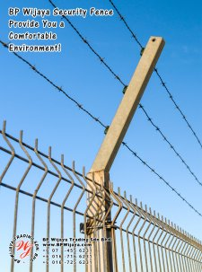 BP Wijaya Trading Sdn Bhd Malaysia Selangor Kuala Lumpur Manufacturer of Safety Fences Building Materials for Housing Construction Site Security Fencing Factory Security Home Security C01-36