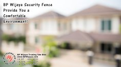 BP Wijaya Trading Sdn Bhd Malaysia Selangor Kuala Lumpur Manufacturer of Safety Fences Building Materials for Housing Construction Site Security Fencing Factory Security Home Security C01-43