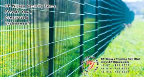 BP Wijaya Trading Sdn Bhd Malaysia Selangor Kuala Lumpur Manufacturer of Safety Fences Building Materials for Housing Construction Site Security Fencing Factory Security Home Security C01-52