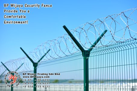 BP Wijaya Trading Sdn Bhd Malaysia Selangor Kuala Lumpur Manufacturer of Safety Fences Building Materials for Housing Construction Site Security Fencing Factory Security Home Security C01-53
