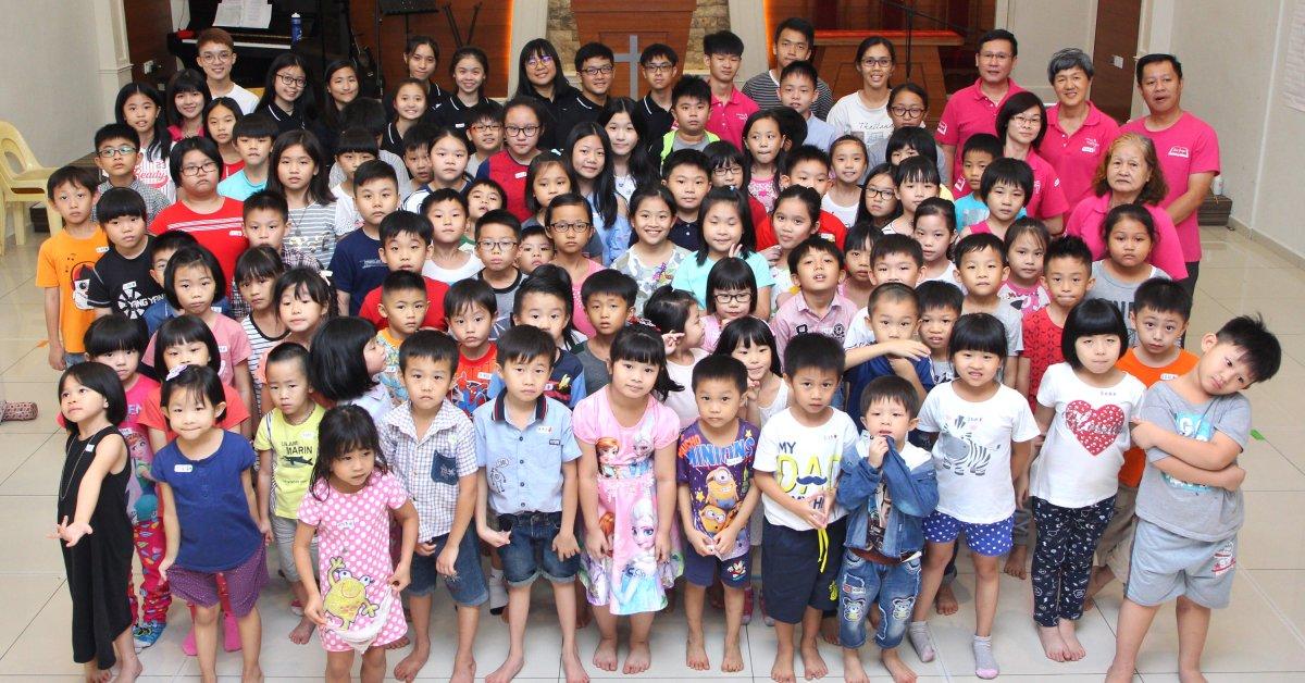 儿童主日学 两日营 - 苏雅喜乐堂
